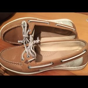 Sperry Loafers Leather & Canvas